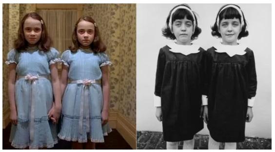 Diane Arbus identical twin