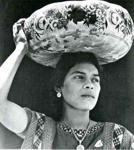 mujer tehuana