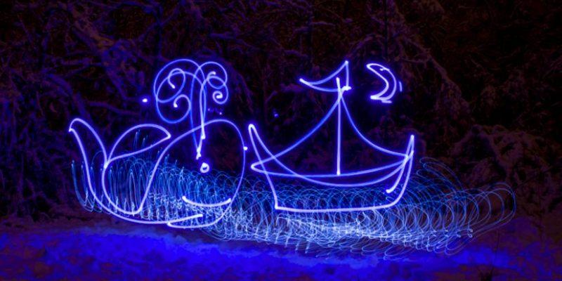 Light Painting: ¡Pintar con la Luz es Asombroso!