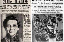 Gerda Taro, el valor de una mujer en tiempos de Guerra